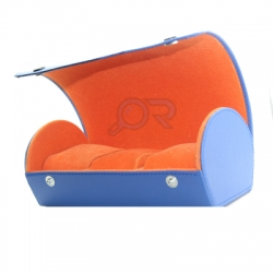 Watchbox Biru Orange WM  medium