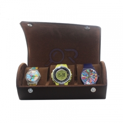 Watchbox Coklat coklat  medium