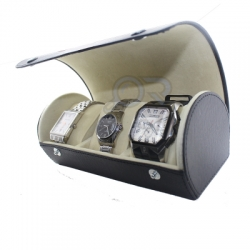Watchbox Hitam Krem WM  medium